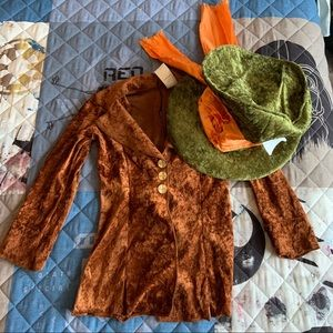 Mad Hatter Costume (SHIRT & HAT ONLY)